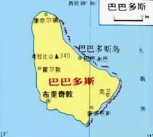 巴巴多斯地图