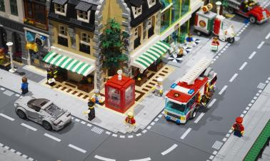 'I Love Lego' exhibition in Madrid