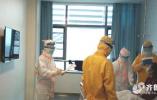抗击疫情!山一大一附院一线救援记录:物资紧缺,两名医师身着病号服救死扶伤