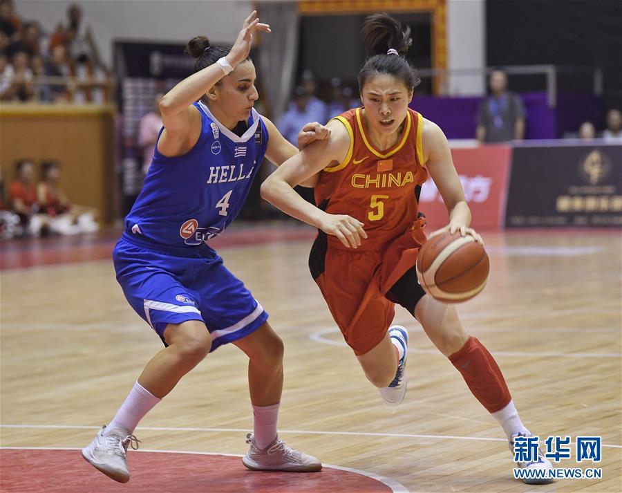 西昌国际女篮锦标赛:中国队夺冠