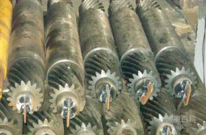 出口渗碳齿轮轴