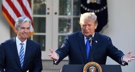 特朗普与杰罗姆·鲍威尔