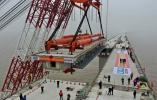 这一超级工程距通车又进一步 宁波舟山港主通道主线贯通