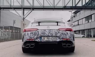 或日内瓦车展亮相 AMG GT 73预告图曝光