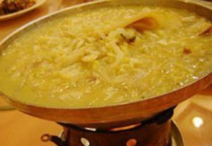渍菜白肉火锅