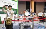 第十六届中国—东盟博览会上的高科技产品引人关注
