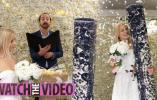 """美女身着婚纱举行盛大婚礼,""""新郎""""却是一张地毯?"""