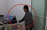 """进办公室行窃旁若无人被全程录像 镇江那个""""心理素质过硬""""的蟊贼被抓获"""