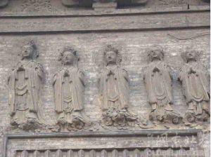 天宁寺塔塔雕