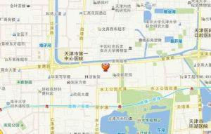 天津滨海国际机场地图
