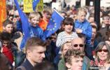 欧洲议会选举在即 欧盟公民借机为反对脱欧发声