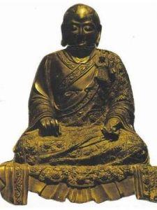紫柏大师铜像
