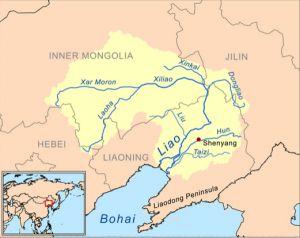 浑河位置图