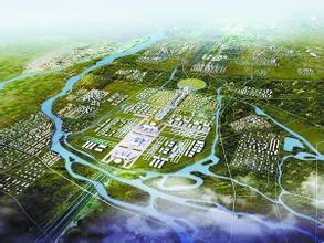 北京新机场俯视图