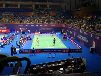 2019中国羽毛球公开赛:男单、女双喜获开门红
