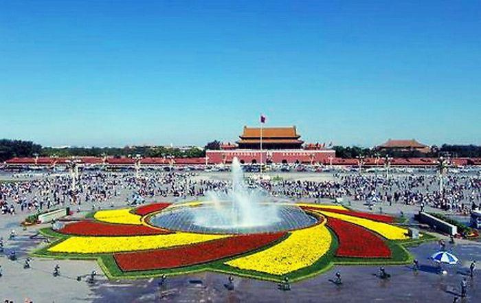 2006天安门广场国庆花坛