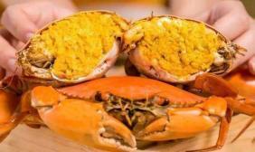 黄满膏肥吃螃蟹!营养师说这样吃才好!