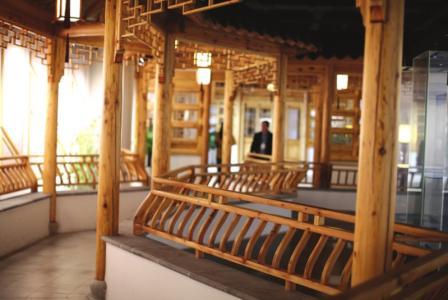 苏州第二图书馆的古风