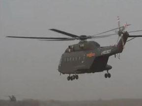 陆军国产新型加改装救护直升机首次走出国门参加卫勤联演