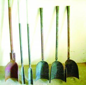 考古学工具洛阳铲