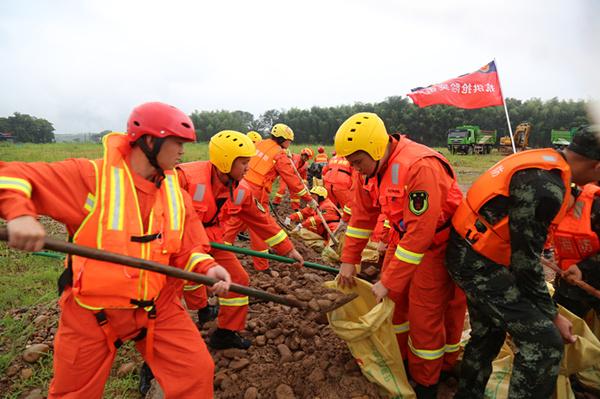 全国消防救援队伍参加抗洪抢险2536起